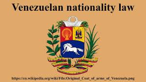 Venezuela Flag Colors Venezuelan Nationality Law Youtube