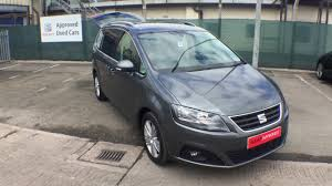 seat alhambra 2 0tdi dsg se for sale at crewe seat youtube