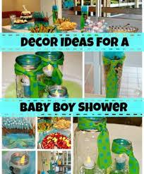 jar baby shower ideas diy boy baby shower decor