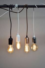 Cloth Cord Pendant Light Gold Socket Vintage Style Pendant Light Cord W Dimmer