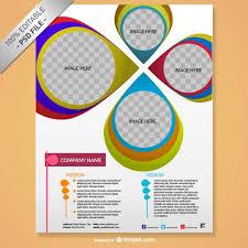 creative brochure design psd lascala me