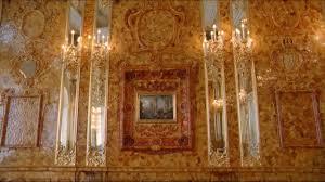 chambre ambre chambre d ambre pétersbourg russie hd stock 829