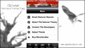 Solunar Tables Fishing Isolunar Hunting U0026 Fishing Times App Review Youtube