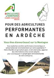 chambre agriculture ardeche productions animales synagri com