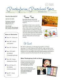 preschool newsletter november 2014 wabash presbyterian church