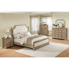 Bed Frame And Dresser Set Bed And Dresser Set Solid Wood Construction Bedroom Set With King