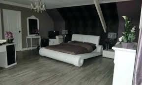 chambre noir et blanc design deco chambre chambre coucher decoration chambre et