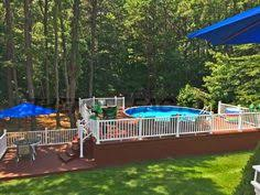 semi inground pools with deep end pools check more at http