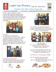 newsletters buena park rotary club