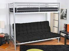 chambre avec clic clac lit mezzanine avec clic clac noir et blanc zino 300 idées d