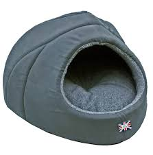 Igloo Dog Bed Omega Extra Large Hooded Pyramid Dog Bed Designed To Fit Two Small