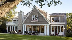 Shingle Style Residence Contemporary House Design By Charlie Co - Modern traditional home design