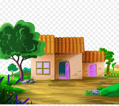 file tree house jpg cartoon computer file 2017 cartoon tree house road png download