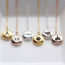 personalized photo locket necklace 107 best personalized gifts images on christmas