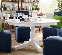 pedestal dining room table sets owen extending pedestal dining table pottery barn with white
