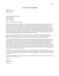 Internship Letter Of Intent by Graduate Letter Of Intent Sample Thebridgesummit Co