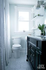 What Color To Paint A Small Bathroom by 116 Best Black U0026 White Bathrooms Images On Pinterest Room