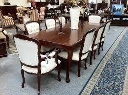 Mahogany Dining Room Table And 8 Chairs Provincial Louis Dining Set 8 Seater Solid Mahogany