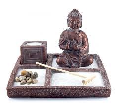 Office Desk Gift Zen Garden Buddha Statue Mini Zen Garden Office Decor Gift