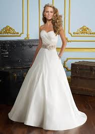 beautiful luxe taffeta wedding dress style 6726 morilee