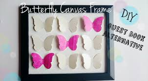 guest book alternative butterfly canvas frame youtube