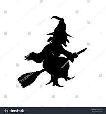 Free Printable Halloween Stencils Witch Template Virtren Com