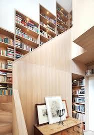 Modern Staircase Wall Design Bookcase Under Stairs Bookcase Design Stairs Bookcase Design 30