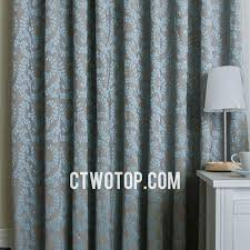 Teal Patterned Curtains Unique Leaf Patterned Brown And Baby Blue Bedroom Burlap Curtains