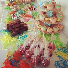 bonbon baby shower candy bar mesa de postres baby shower niño candy station