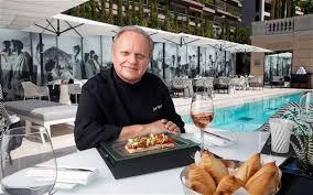 la cuisine de joel robuchon joël robuchon i ve only thrown one plate telegraph