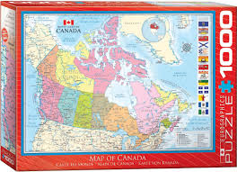 map of canada puzzle puzzle map of canada eurographics 6000 0781 1000 pieces jigsaw