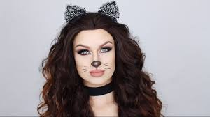 easy glam cat makeup tutorial halloween 2016 youtube