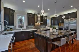 kitchens with dark cabinets 22 beautiful kitchen colors with dark cabinets home design lover
