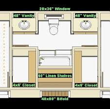 jack and jill with closet in the vanity area put pocket doors