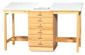 Large Drafting Tables Nightstand With Storage 2 Station Drafting Table Wall Baskets For