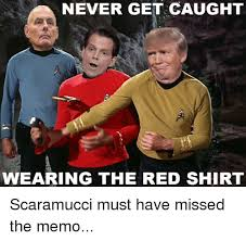 Red Shirt Star Trek Meme - never get caught wearing the red shirt never meme on me me