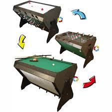 3 in 1 air hockey table 3 in 1 game table foosball pool and air hockey billiards