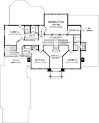 colonial style house plan 5 beds 5 50 baths 5432 sq ft plan 453 27 colonial style house plan 5 beds 5 50 baths 5432 sq ft plan 453