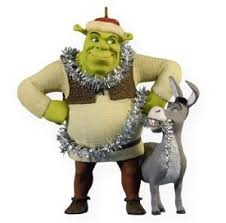 2009 hallmark keepsake ornament chaos shrek and