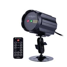 holigoo red u0026 green laser control wireless lotus christmas lights