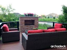 fireplace brilliant deck fireplace for house deck fire table