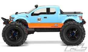 ford raptor truck pictures pro line 3468 00 ford f 150 raptor svt clear for 1 8