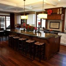 kitchen island with bar seating rustic kitchen design with