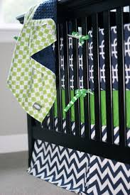 Grey And Green Crib Bedding Lime Green And Navy Crib Bedding Bedding Designs