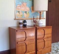 Vintage Bedside Tables Pair Of Retro Bedside Chests John U0026 Sylvia Reid For Stag Vintage
