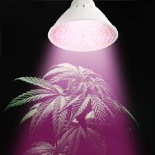 amazon com round led full spectrum grow light by bryt 15watt