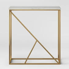 house of hton console table project 62 highfield console table white marble brass white marble