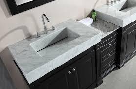 fresh double trough sink bathroom vanity 6561