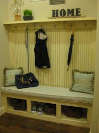 mud room bench with coat rack by burrows cabinets traditional