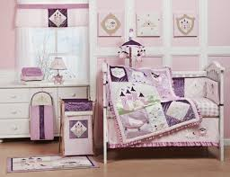 Purple Nursery Bedding Sets Baby Nursery Delectable Purple Baby Nursery Decoration